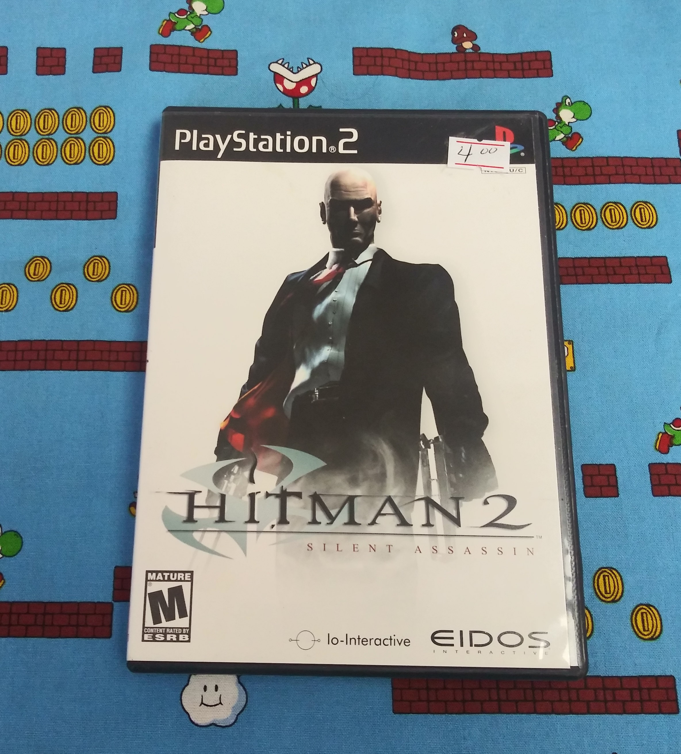 Ps2 Hitman 2 Silent Assassin C Classic Contagious Games Llc